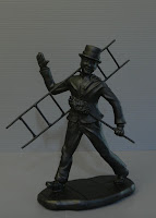 scultura spazzacamino soprammobile speciale mary poppins orme magiche