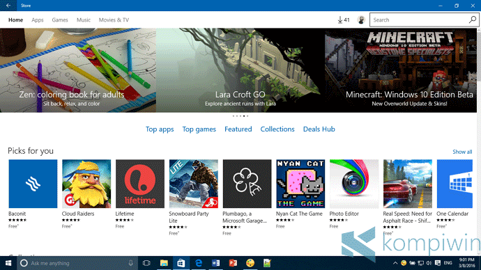 windows store di windows 10