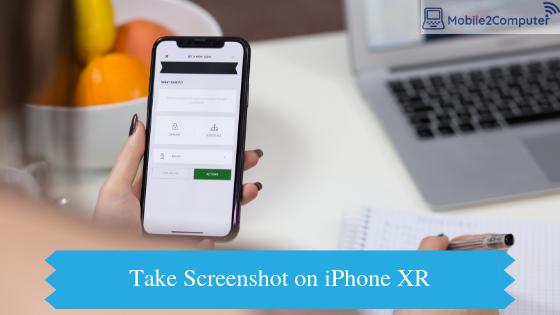 Taking Screenshots on iPhone XR