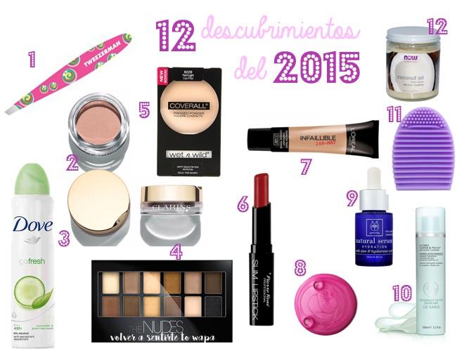 Los 12 Beauty Descubrimientos del 2105