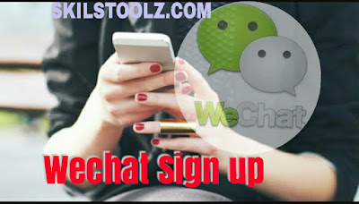 wechat signup