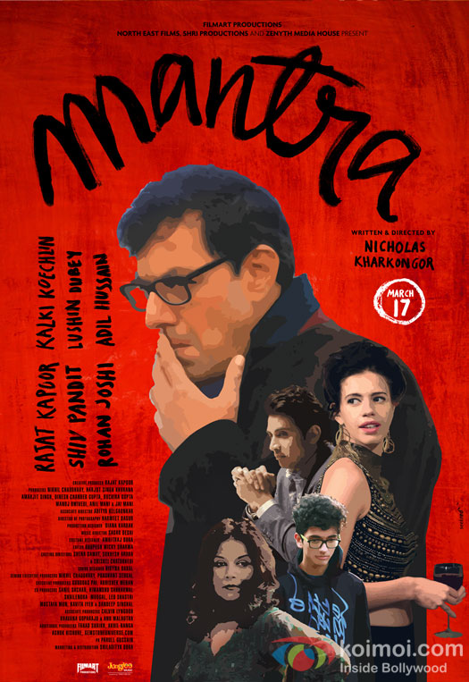 Mantra next upcoming movie first look, Poster of Rajat Kapoor, Kalki Koechlin download first look Poster, release date