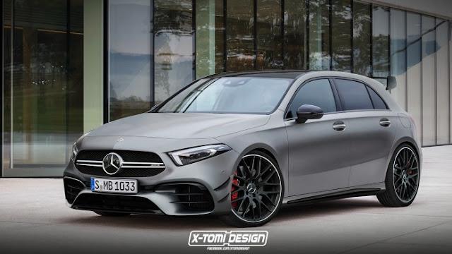 2020 Mercedes-AMG A 45 kommt mit mehr als 400 PS, 8-Gang-Getriebe und Drift-Mode