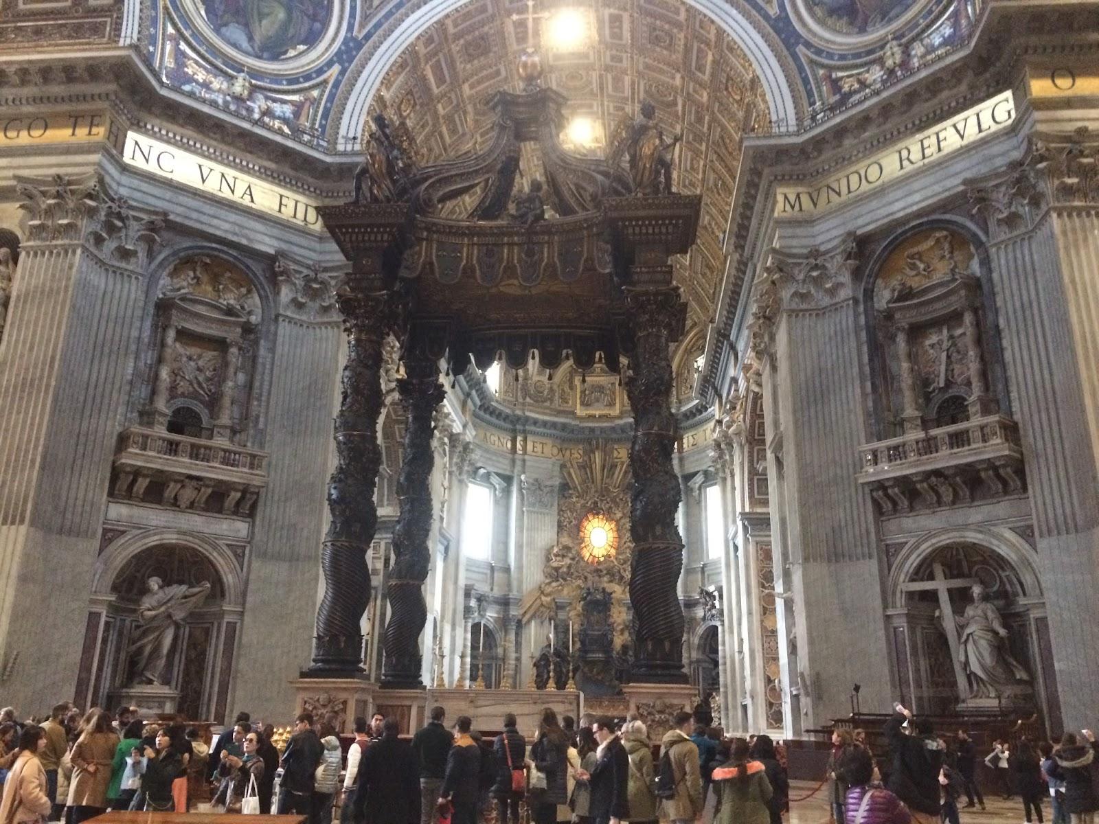 Vatican City, Saint Peter's Basilica, Italy