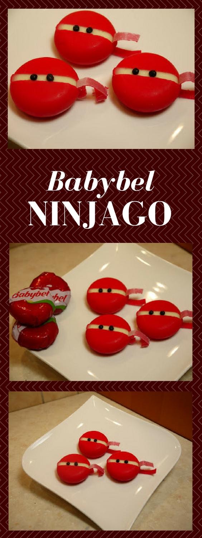 MsFunnyHome Ninjago Party Babybel Ninja Cheese Fun Party