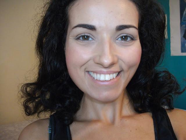 Smile Brilliant whitening kit for sensitive teeth, result