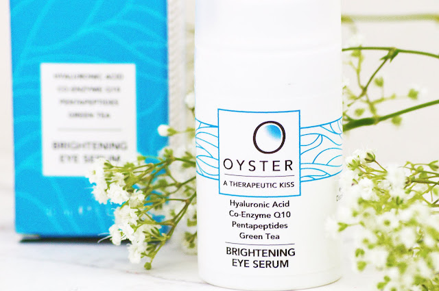 Lovelaughslipstick Blog - Oyster Skincare New Release Eye Brightening Serum A Therapeutic Kiss Review and Giveaway