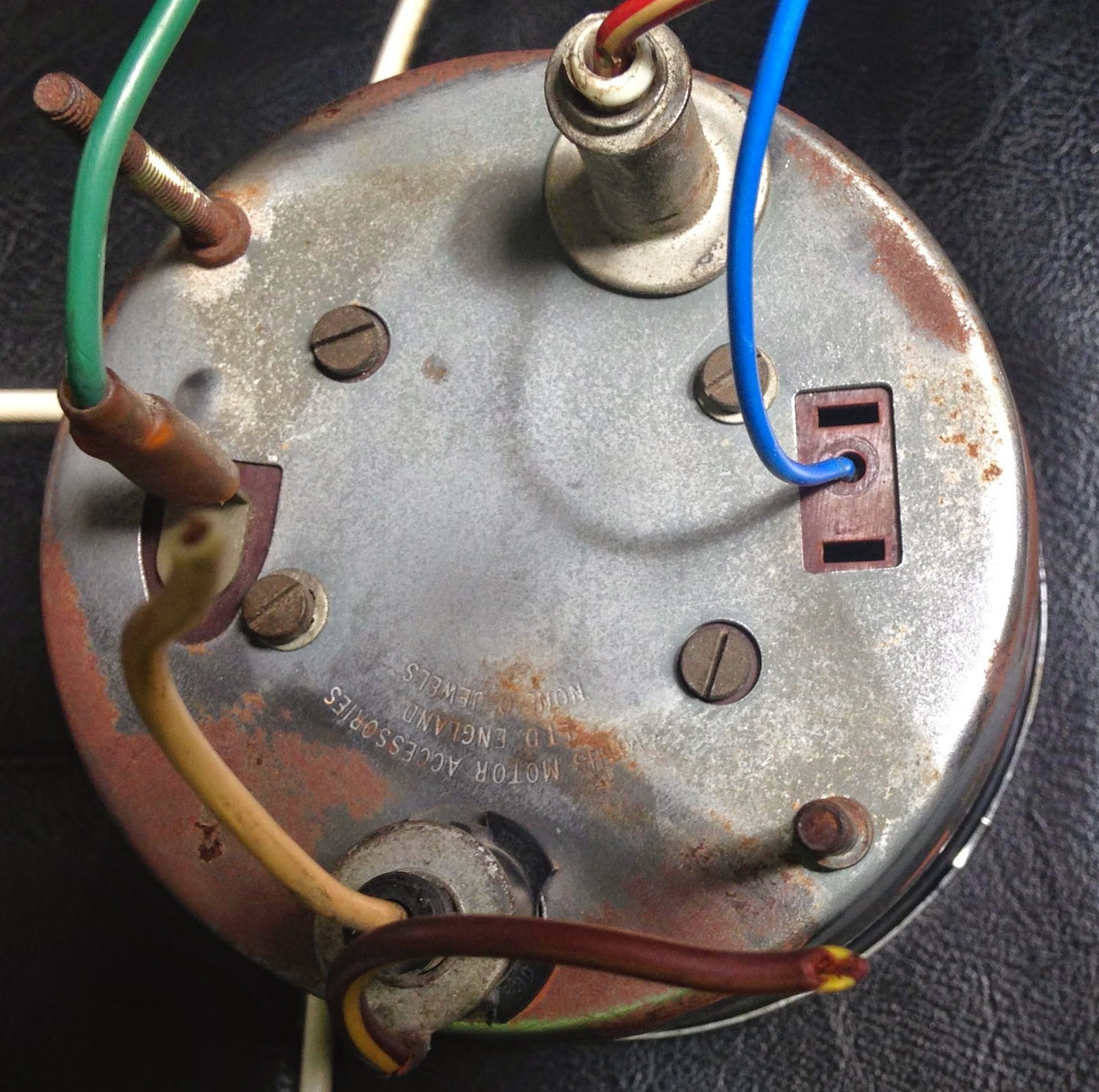 Mg Midget Tachometer Wiring | Wiring Library