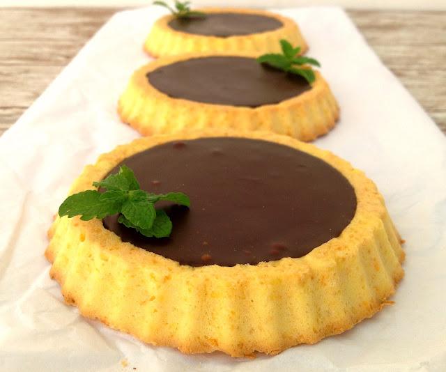 carrot-and-chocolate-tarts, tartaletas-de-zanahoria-y-chocolate