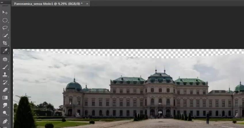 Come creare una foto panoramica con Photoshop - Tutorial