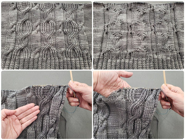 Basic Knitting Terminology: Right Side, Wrong Side, Front and Back