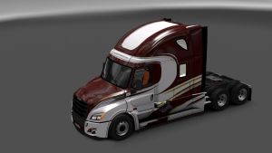 Southern Freight Inc. Skin for Cascadia 2018