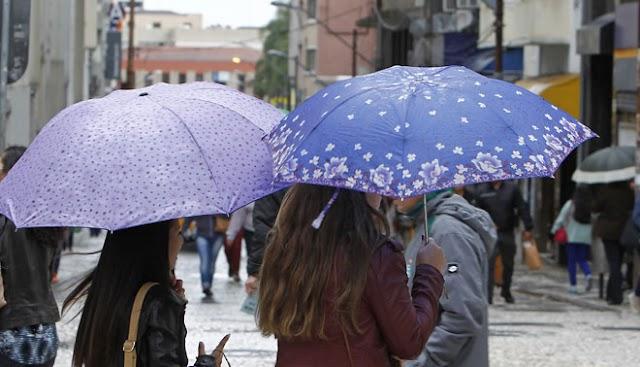 Chuva não da trégua está quarta-feira em Colbo e Região