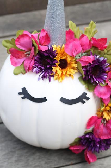 Unicorn Pumpkin Craft AK Party Studio Michaels Stores