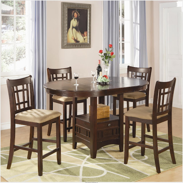 Great Coaster Dining Table Picture