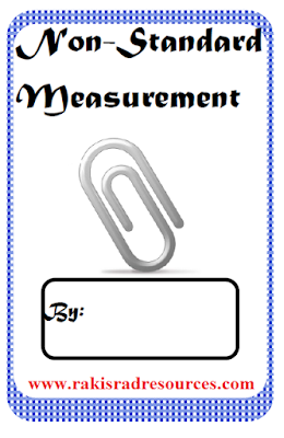 Free non-standard measurement booklet for students. Printable resource available from Raki's Rad Resources.