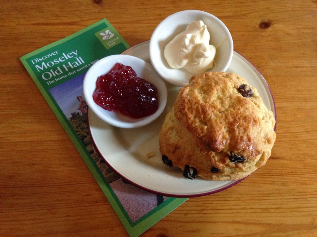 Moseley Old Hall National Trust Scones