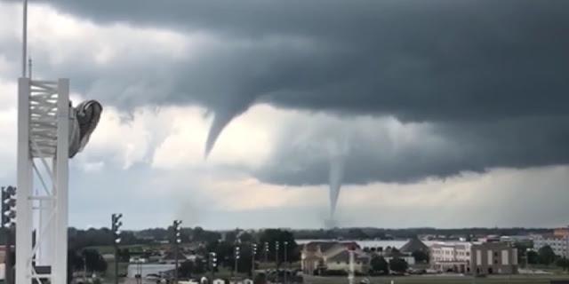 Videos show massive tornadoes ripping through Iowa