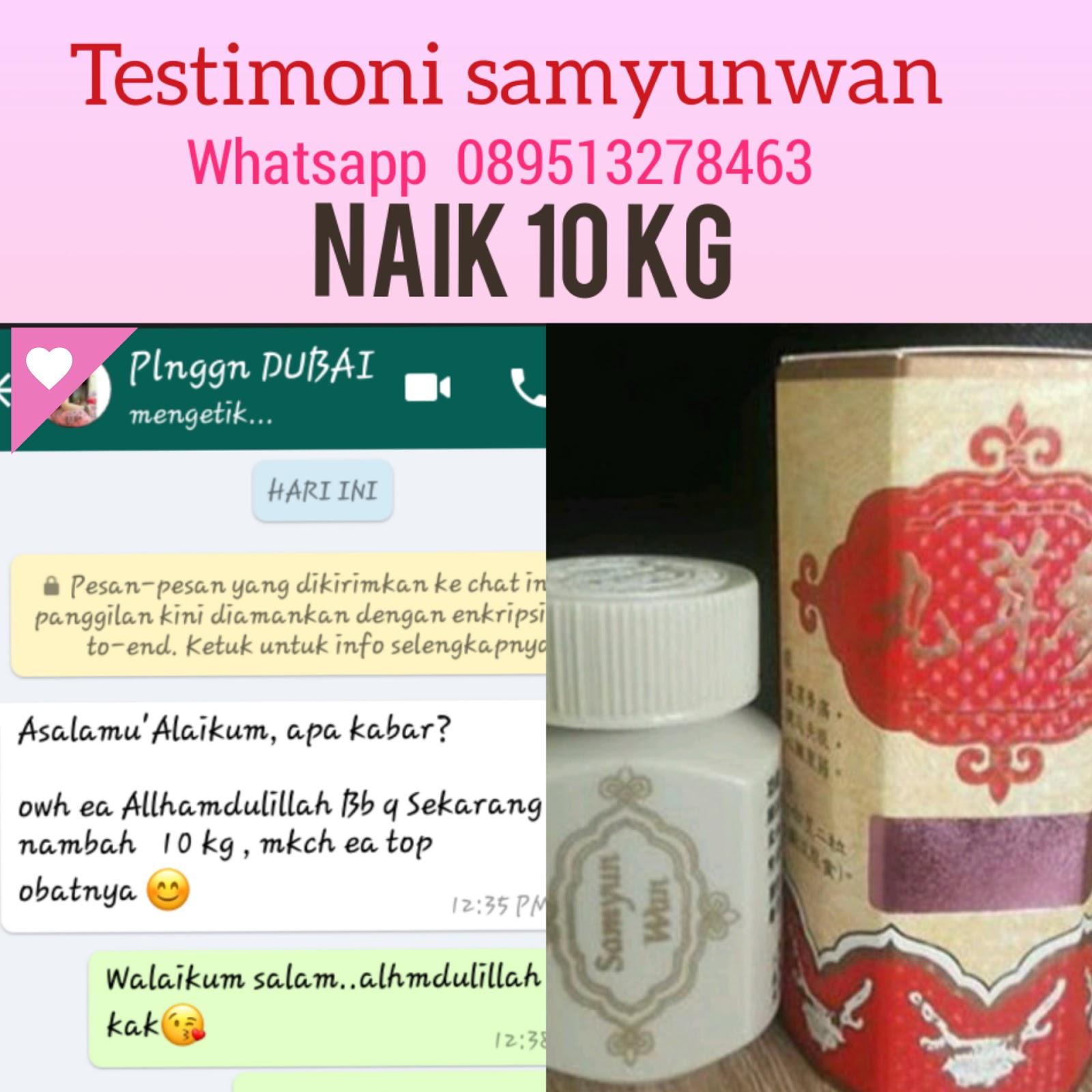 Samyunwan Penggemuk Badan Sam Yun Wan Samyun Wisdom Original Obat Penambah Nafsu Makan Hasil Testimoni Kami Hati