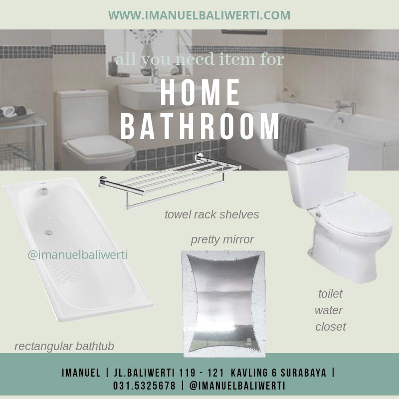 jual toilet kloset kamar mandi IMANUEL baliwerti surabaya