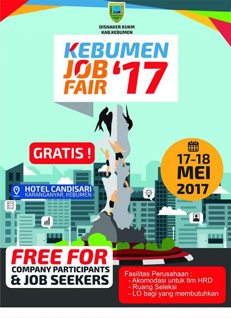 Kebumen Job Fair Digelar 17-18 Mei 2017