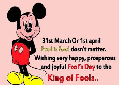 April Fools Day, SMS Funny Messages Jokes Prank Ideas Status #Aprilfools