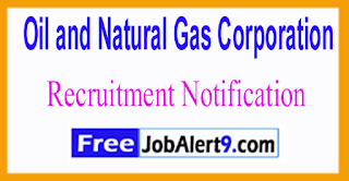 ONGC Oil and Natural Gas Corporation Recruitment Notification 2017 Last Date 03-06-2017