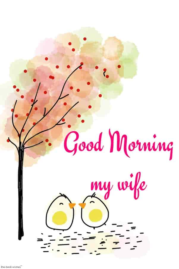 good morning my wife wallpaper