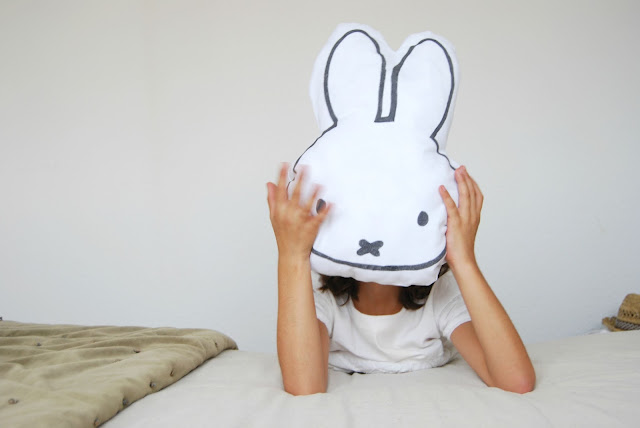 Miffy cushion DIY
