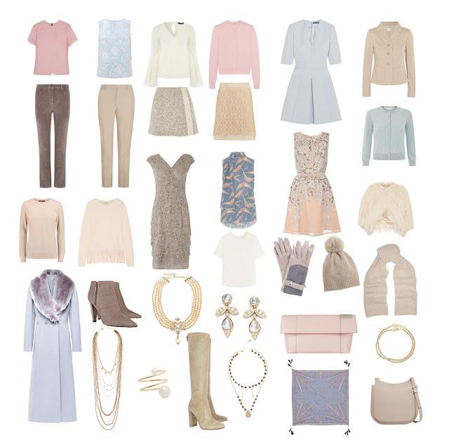 Объекты гардероба в Романтическом стиле Project 333