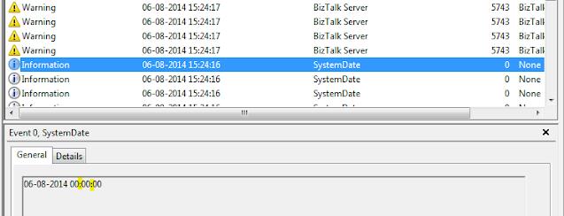 error in event viewer