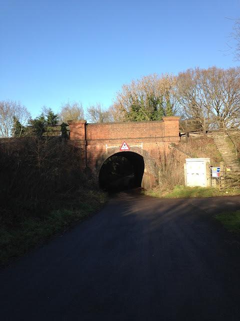 Railway bridge across Holt Lane, Hook, Hampshire