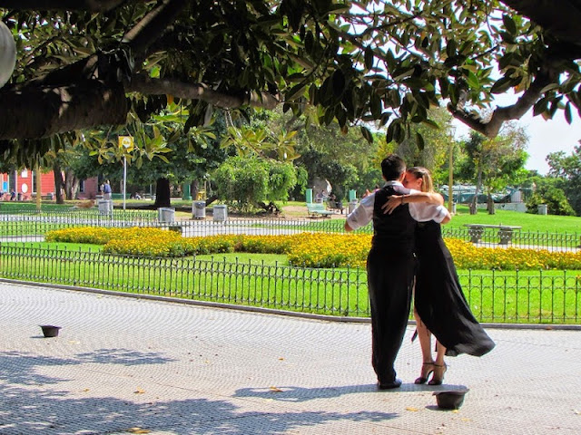 Tango na Recoleta