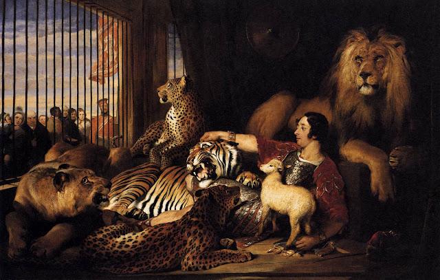 Edwin Henry Landseer - Isaac van Amburgh and his Animals