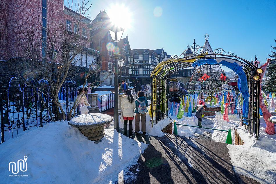 เที่ยว Sapporo 1 วัน : โรงงานช็อกโกแลต Shiroikoibito Park