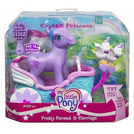 My Little Pony Pretty Parasol Carriage Ponies  G3 Pony