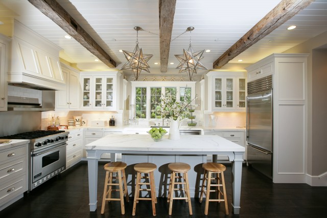 Painting Exposed Wood Ceiling: Shorely Chic: Wooden Beam Ceilings