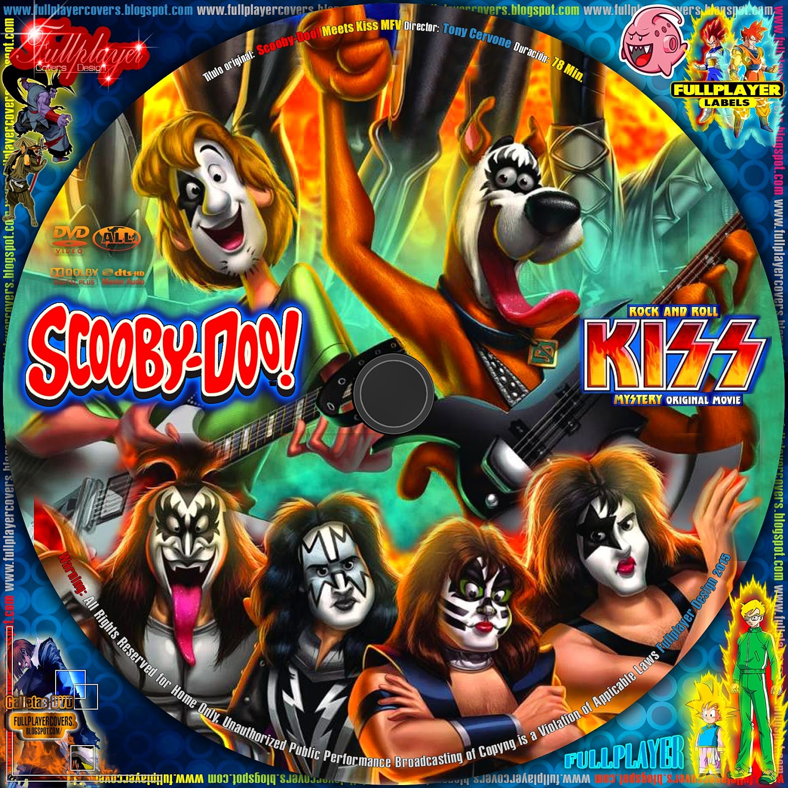 Scooby-Doo! and Kiss: Rock and Roll Mystery (2015)   LABEL