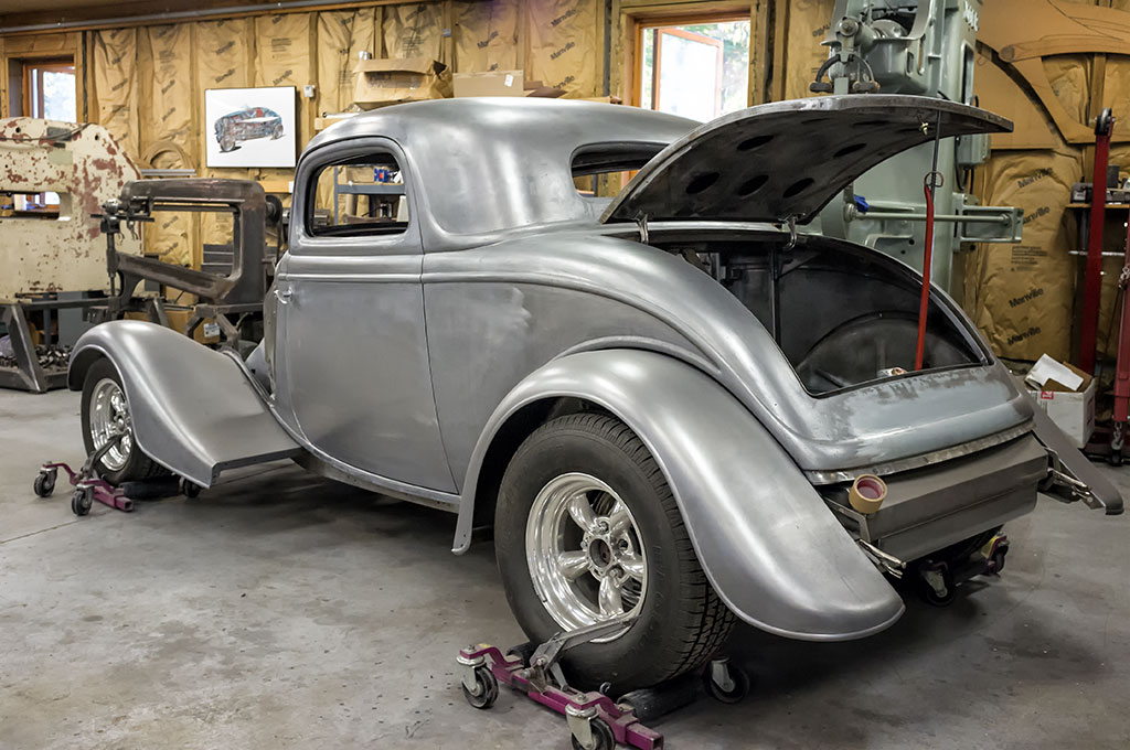 Hotrod Project at Craig Naff's Shop