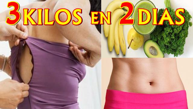 La Dieta de Emergencia que Necesitas para Eliminar 3 Kilos de Grasa en 2 Días