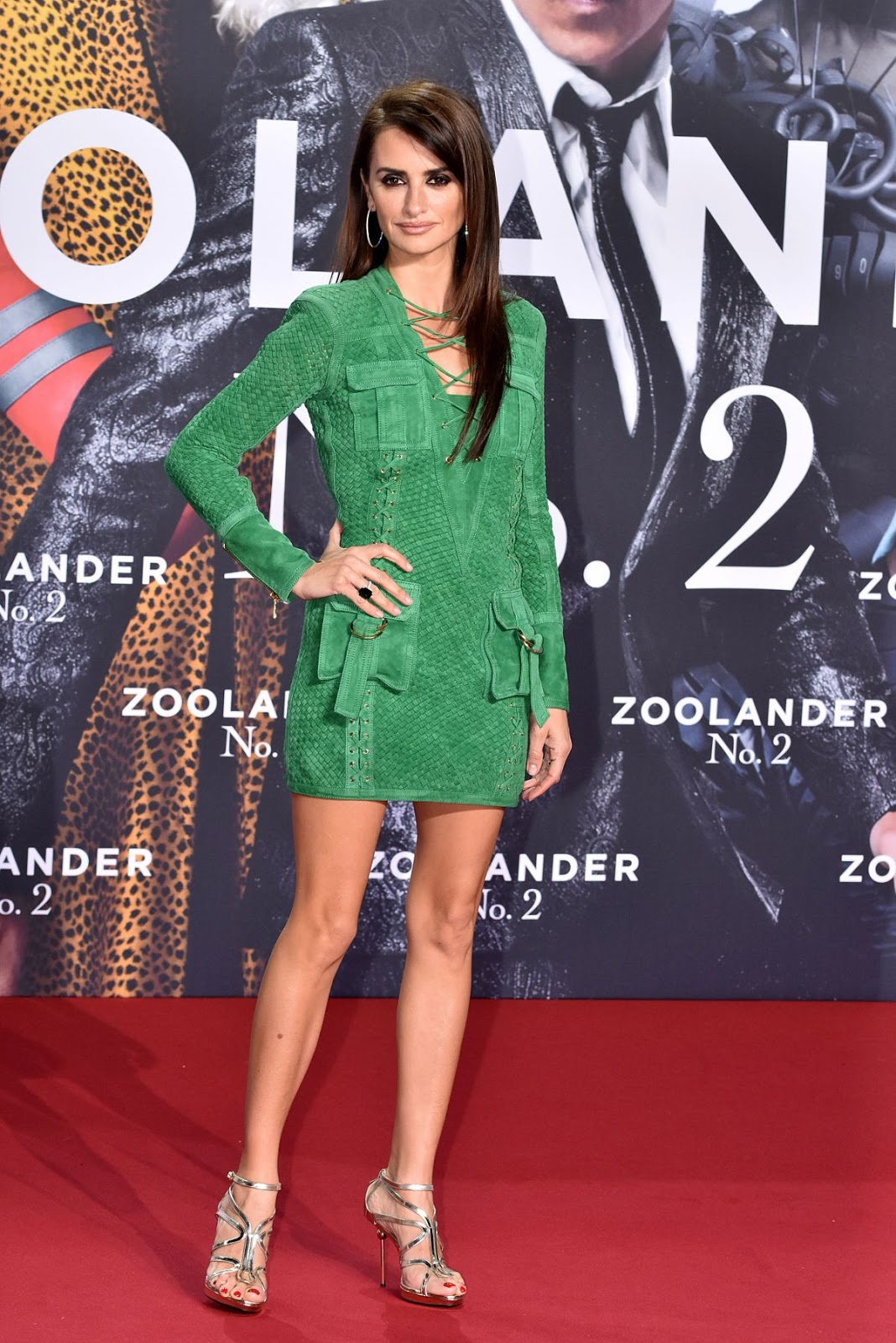 Penelope Cruz at 'Zoolander 2' Berlin Premiere