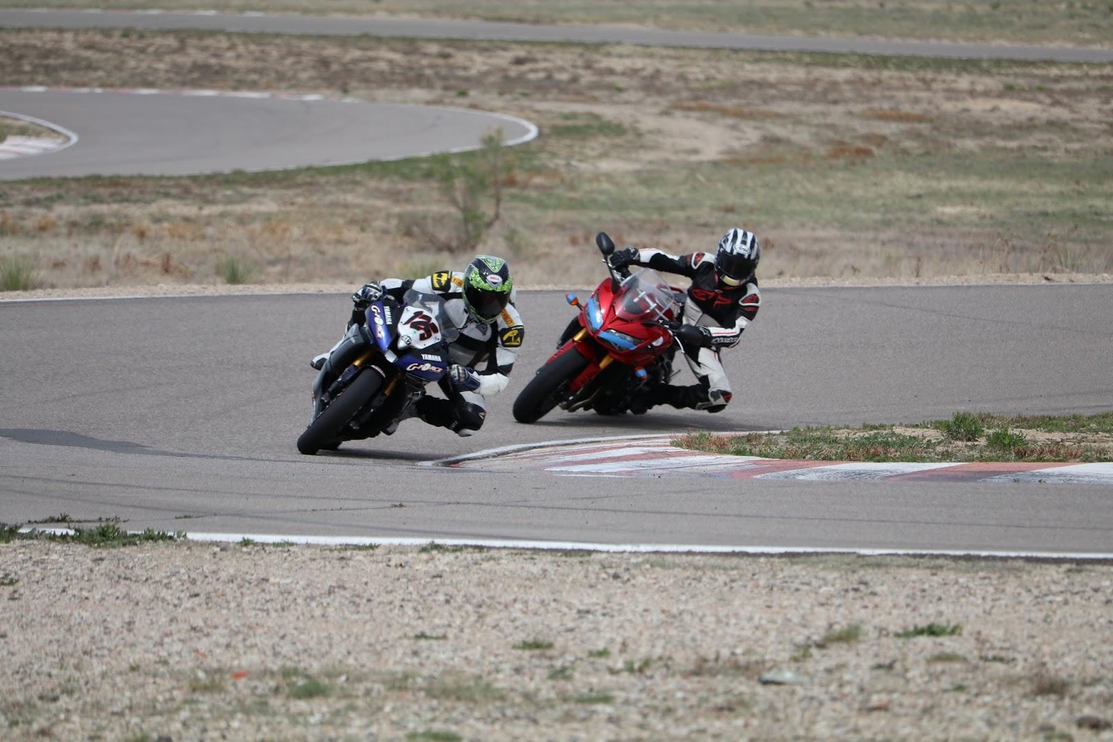 Oldmotodude Yamaha 125 At Pueblo Motorsports Park Track