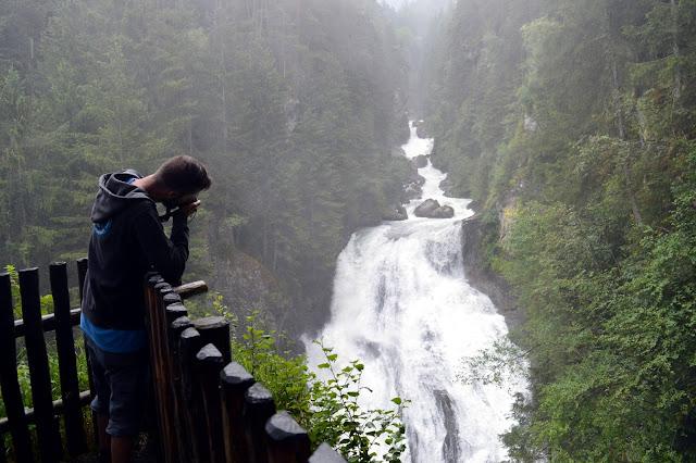 escursione cascate di Riva Campo Tures