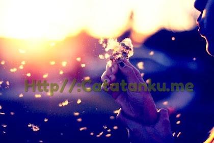 Dunia akan segera berakhir, lalu di manakah cinta yang masih berserakan Bersemayam??