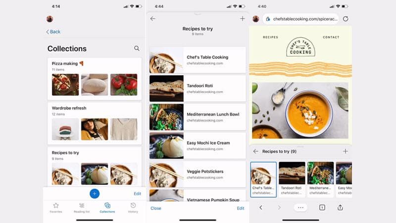 Collections feature of Microsoft Edge now rolling out for all Android and iOS users