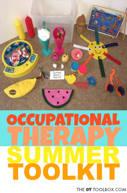 More Themed Occupational Therapy Activity Toolkits