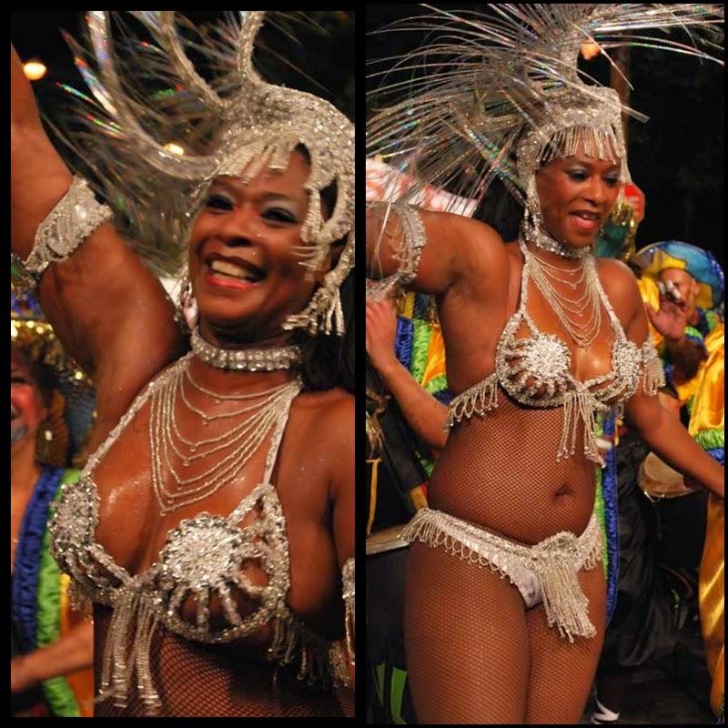 Carnaval. Desfile de Llamadas. Montevideo.La Jacinta.Lola Acosta. 2010.