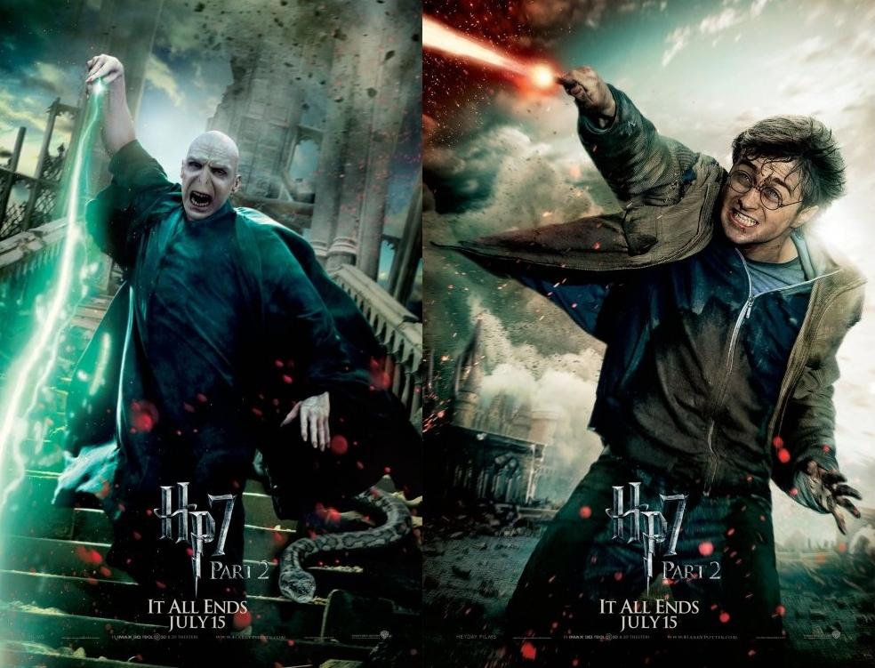 Hans was Here.: 哈利波特7-2.十年的等待就為此刻