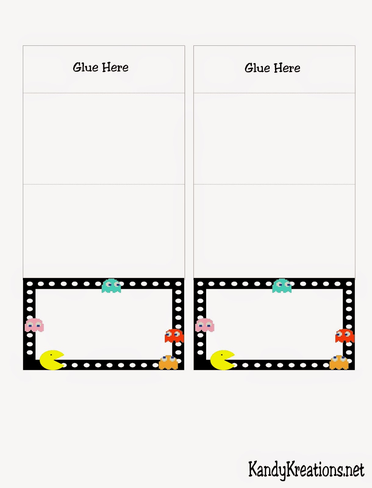 Free Video Game Printables
