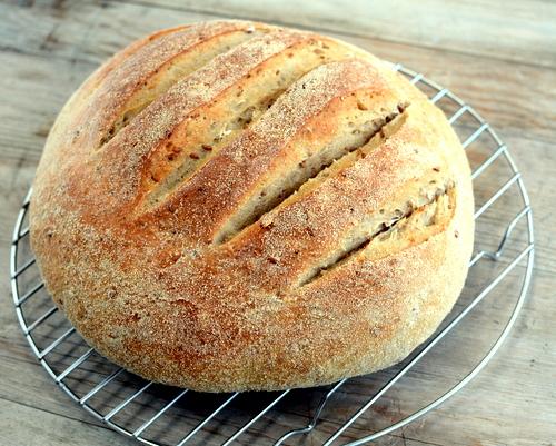 Whole-Grain Bread ♥ AVeggieVenture.com
